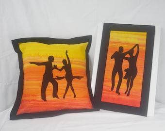 Silhouette Dancers Kit - Rumba and Cha Cha Cha