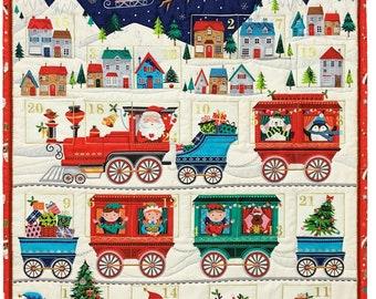 Santa Express Advent Calendar by Makower UK