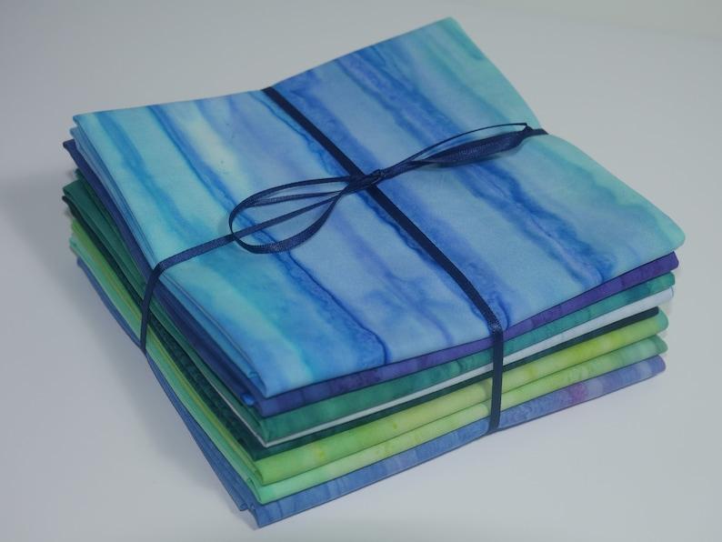 Landscape Batiks by Sew Simple for EQS. Fat Quarter Bundle image 0