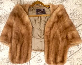 Vintage Oleg Cassini Kudra Fur