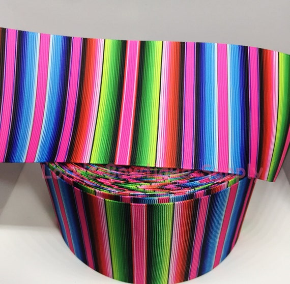 """Vintage Grosgrain Bright Melon 2 1//4/"""" Ribbon 5yds Made in U S A"""