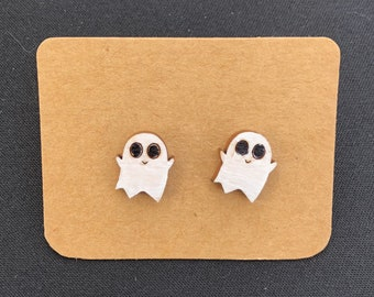 Ghost Stud Earrings
