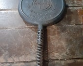 Antique Griswold cast iron waffle iron