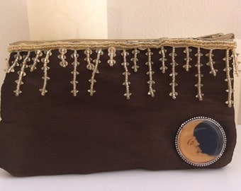 Cute change purse with moon