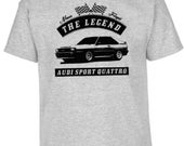 Audi Sport Quattro, T-Shirt, Car, Vintage Car, Young Car