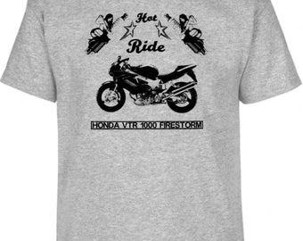 HONDA VTR1000 FIRESTORM 2006 inspired motorcycle motorbike bike shirt tshirt