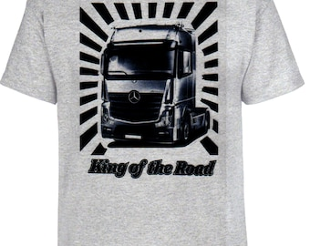 Actros, King of the Road, T-shirt, truck, trucker, truck
