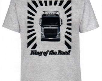 Volvo, King of the Road, T-shirt, truck, trucker, truck