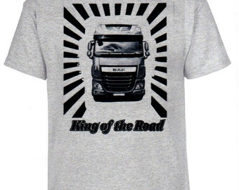 DAF, King of the Road, T-shirt, truck, trucker, truck