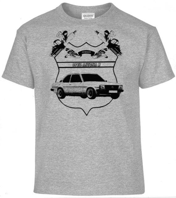 Youngtimer T-Shirt Opel Manta B Oldtimer