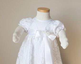 Sophia Gown - Christening Gown, Girls Christening Gown, Baptism Dress