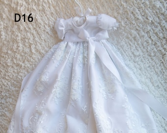 Camila Gown - Christening Gown, Girls Christening Gown, Baptism Dress