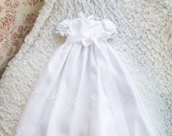 Charlotte Gown - Christening Gown, Girls Christening Gown, Baptism Dress