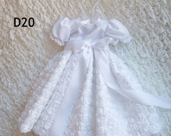 April Gown - Christening Gown, Girls Christening Gown, Baptism Dress