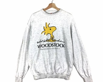 Rare!! Vintage Knott/'s Snoopy And Friends Pullover Sweatshirt Medium Size