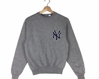 NEW YORK APPLE Sweatshirt NY Gift Graphic Retro Style Unisex Pullover Sweater