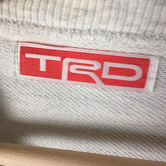 Vintage!!Toyota Motorsports TRD Racing sweatshirt… - image 4