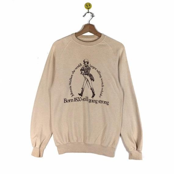 Rare!! Johnnie Walker sweatshirt Johnnie Walker pu