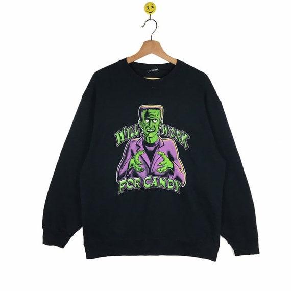 Rare!! Frankenstein sweatshirt Frankenstein pullov