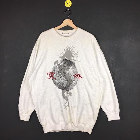 Rare!! Kansai Yamamoto sweatshirt Kansai Yamamoto