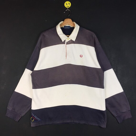 Rare!! Fred Perry Sweatshirt Fred Perry Multicolor