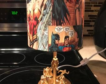 Justice League Lamp
