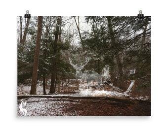 Spirit Animal: Deer, Woodland, Fantasy, Photography POSTER