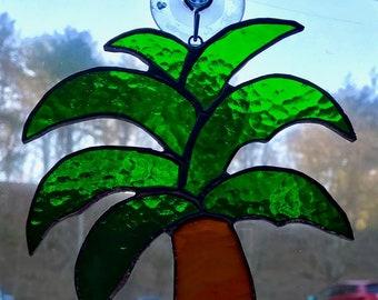 b474267858ab72 Palm Tree - Stained Glass Suncatcher