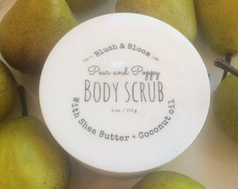 Pear & Poppy Body Scrub