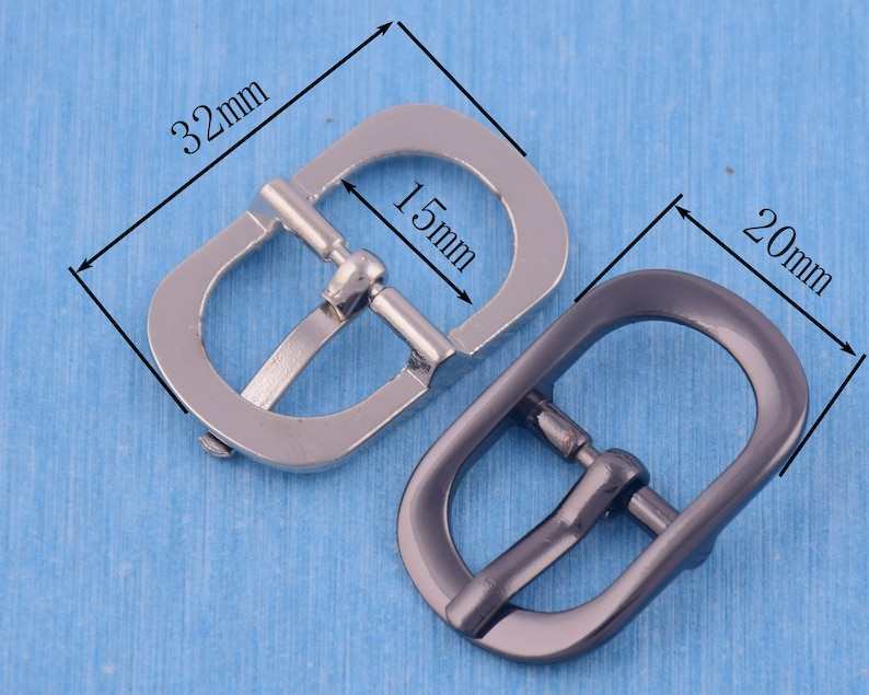10pcs 15mm wide belt bucklebag buckleneedle buckleshoe bucklebracelet buckle