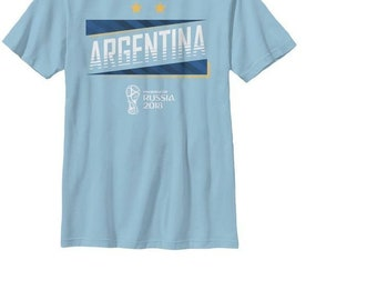 Argentina Soccer Team Fifa World Cup 2018 T-Shirt for Men - FIFA World Cup b78d51815