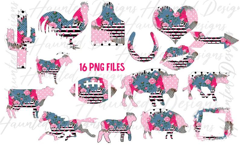 Instant Digital Download HUGE Clip Art Design Bundle Distressed Patchwork Shabby Farm Corrugated Metal bundle PNG