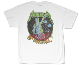 Metallica And Justice For All T-Shirt XXL