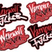 Gray reviewed Vampire & Werewolf Patches [PREORDER] Ships May-June
