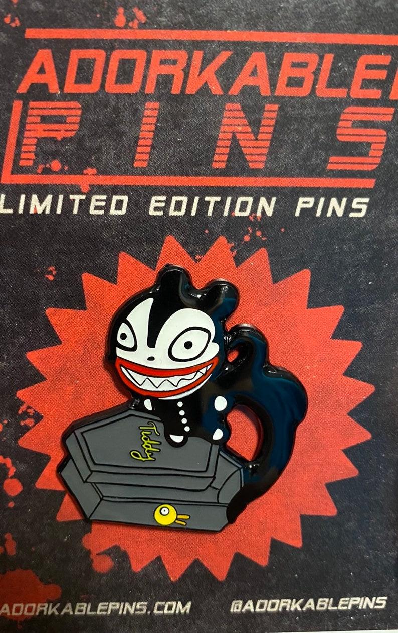 Vampire Teddy Pin