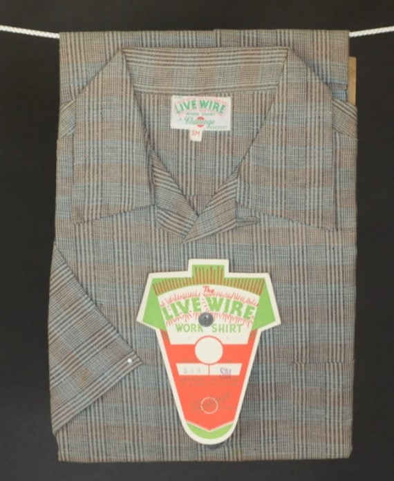 1950  rural work shirt