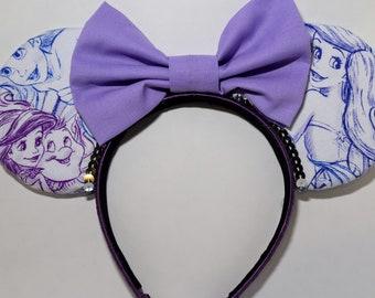Ariel Print Ears