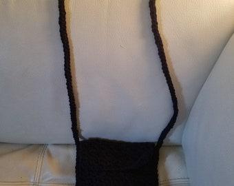 Cross body purse - Crochet
