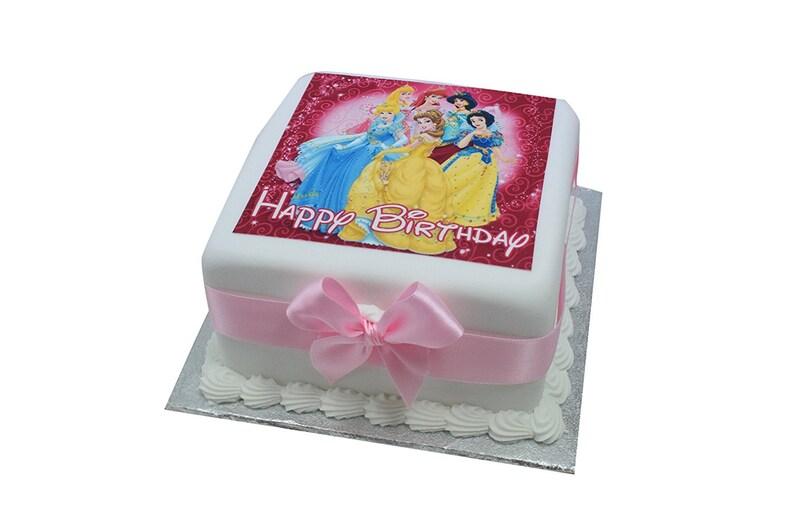 Disney Princess Delicious Birthday Cake 5 X Or 7 Inch