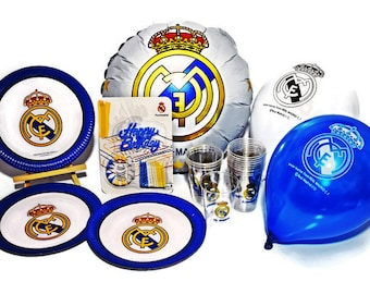 Real Madrid Party Etsy