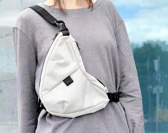 Cycling Bag / Chest Bag / Cordura / YKK Zippers / Handmade / Weight 250 grams