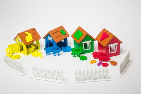 Cadeau Voor 2 Jaar Oude Speelgoed Peuter Cadeau Waldorf Speelgoed Gift Leren Montessori Speelgoed Sorteren Montessori Peuter Cadeau Verjaardag 2