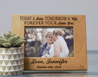 Mother Of The Bride Frame Etsy