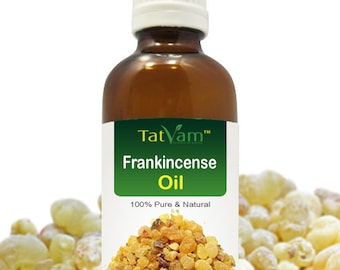 100 % Pure, Uncut, Undiluted, Pure, Natural Frankincense Essential OilFor Aromatherapy