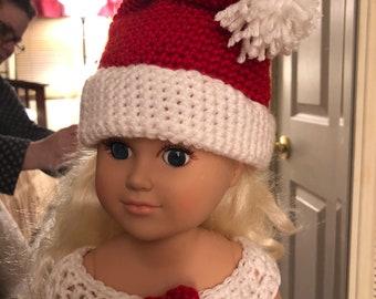 "Christmas dress for 18"" dolls"