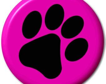 Pawprint - Pin Button Badge