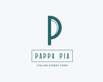 Custom logo design / Small business logo / Restaurant branding / Minimalistic logotype / Custom logotype design