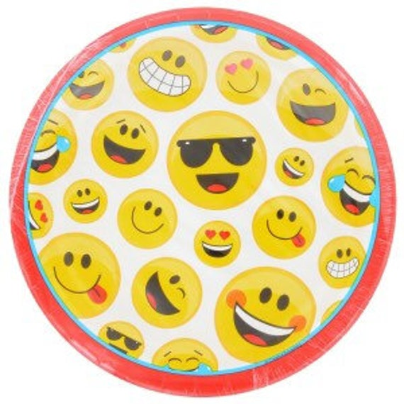 Emoji Party Supplies Birthday Kit
