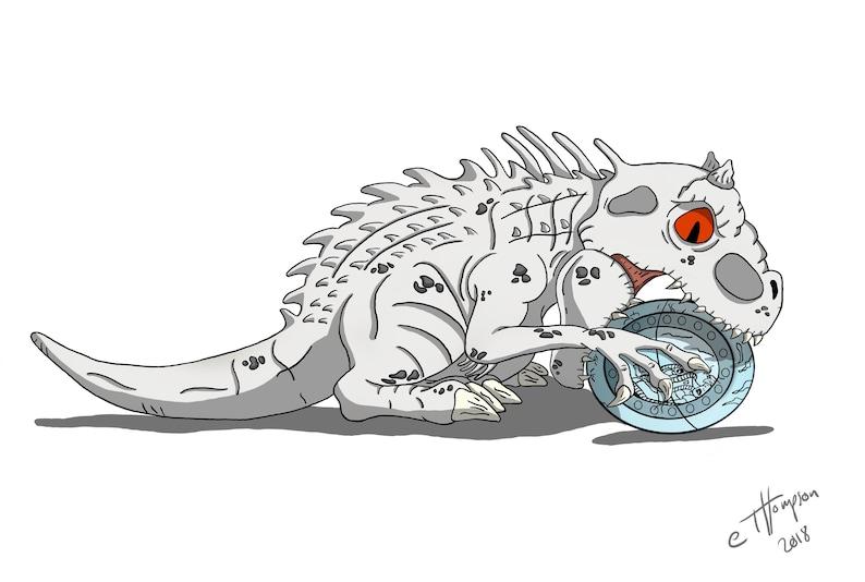 Jurassic Workd: Indominus Rex Fan Art