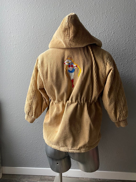 Vintage Custom Sailor Moon Embroidered Corduroy Ja